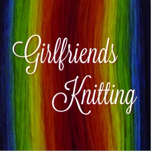 Girlfriends Knitting by Carolyn Warren