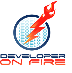 Developer On Fire by Dave Rael