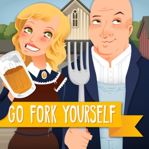 Go Fork Yourself with Andrew Zimmern and Molly Mogren by Food Works, Inc.