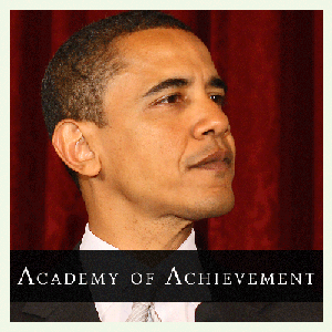Barack Obama by Academy of Achievement