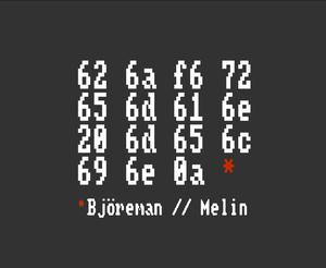 Björeman // Melin by Fredrik Björeman, Christian Åhs & Joacim Melin