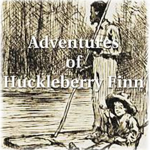"""Adventures of Huckleberry Finn"" Audiobook (Audio book) by Mark Twain performed by Marc Devine"