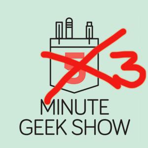 The Three-Minute Geek Show by Matt Stauffer