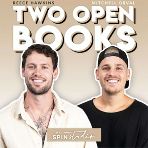 Two Open Books by The Spin Studio