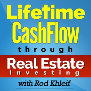 Lifetime Cash Flow Through Real Estate Investing by Rod Khleif | Multi Family Real Estate Investing | Cash Flow | Real Estate Investing | Apartment Investing | Commercial Real Estate Investing | Buying Apartment Buildings | Buying Real Estate | Learning To Buy Real Estate | Mobile Home Parks | Entrepreneu