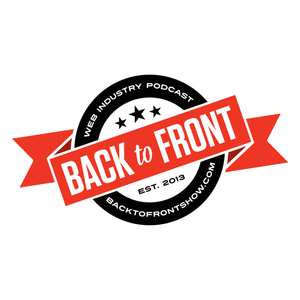 The Back to Front Show by Keir Whitaker and Kieran Masterton discuss web design, web development and startups