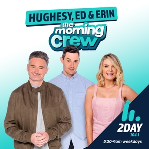 Hughesy & Kate Catchup - Hit Network - Dave Hughes and Kate Langbroek by Hit Network