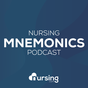 Nursing Mnemonics Show by NRSNG (Memory Tricks for Nursing School) by Kati Kleber RN CCRN (Critical Care Nurse, Nursing Student Mentor,  NCLEX educator, and Nursing Podcast Host)