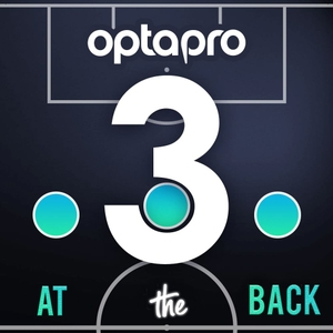Three At The Back by OptaPro