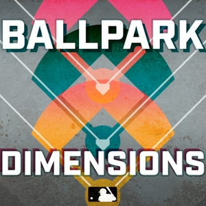 Ballpark Dimensions by MLB.com