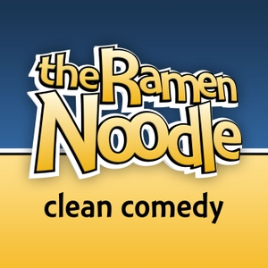 the Ramen Noodle - family-friendly clean comedy podcast by Daniel J. Lewis and Jeremy Laughlin - clean comedians