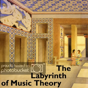 The Labyrinth of Music Theory by Metatheseus