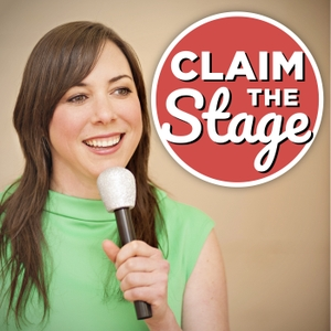 Claim the Stage: A Public Speaking Podcast for Women by Angela Lussier