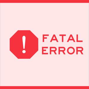 Fatal Error by Soroush Khanlou & Chris Dzombak