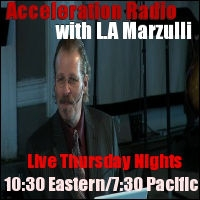 acceleration – Fringe Radio Network! by L.A. Marzulli