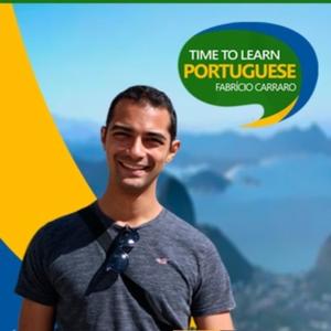 Time to Learn Portuguese Podcast by Fabricio Carraro