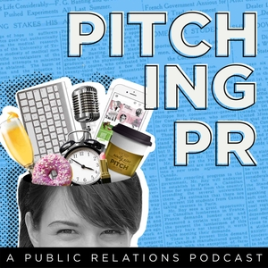 Pitching PR by Lesley Luce