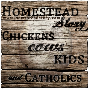 Homestead Story - Chickens, Cows, Kids, and Catholics by Peter and Kristen - Homestead Story