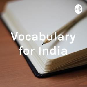 Vocabulary for India