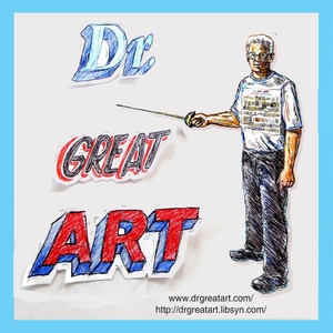 Dr Great Art! Short, Fun Art History Artecdotes! by Dr Mark Staff Brandl