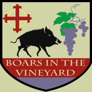 Boars in the Vineyard by None