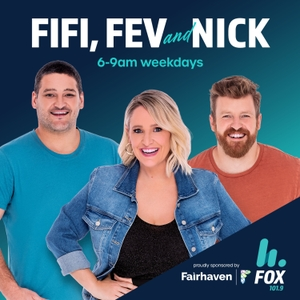 The Fifi, Fev & Nick Catch Up – 101.9 Fox FM Melbourne - Fifi Box, Brendan Fevola & Nick Cody by Hit Network