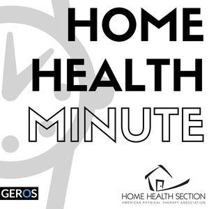 Home Health Minute: Home Health | Physical Therapy | Geriatrics by Home Health Section of the American Physical Therapy Association