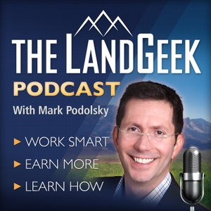 The Land Geek Podcast Archive by Mark Podolsky helps you understand Land Investing in the spirit of real estate investors with inspiration from Rich Dad Poor Dad Robert Kiyosaki & Warren Buffet. The biz version of Marc Maron, Entrepreneur on Fire, Adam Carolla, Serial & Freakonomics