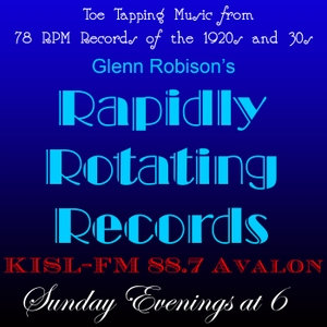 Rapidly Rotating Records by Glenn Robison