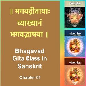 Bhagavad Gita Class (Ch1) in Sanskrit by Dr. K.N. Padmakumar (Samskrita Bharati) by Samskrita Bharati