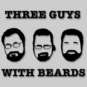 Three Guys with Beards by Tom Clark