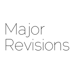 Major Revisions by J. W. Atkins, J. Walter, G. Wilkinson