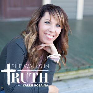 She Walks In Truth by Carrie Robaina