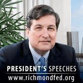 Jeffrey M. Lacker - Federal Reserve Bank of Richmond by Richmond Fed