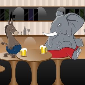 A Liberal & A Conservative Walk Into A Bar... by Matt & Tim