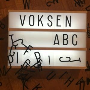 Voksen ABC podcast by Rachel Lewin Rukov og Cecilie Falgren Rubini