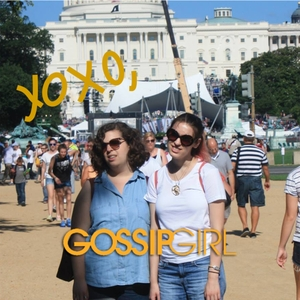 XOXO Amanda and Becky talk about Gossip Girl by davebabies