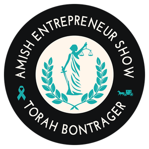 Amish Entrepreneur Show with Torah Bontrager by Torah Bontrager - making women safe by collecting 1,111 stories of sexual assault survivors