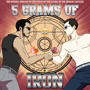 Yare Yare Boys/5 Grams of Iron by Eddy Collazo & Brooks Oglesby