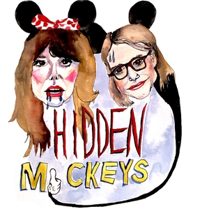 Hidden Mickeys by Carrie Poppy and Natalie Palamides