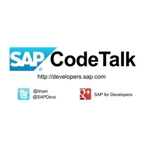 SAP CodeTalk by SAP SE