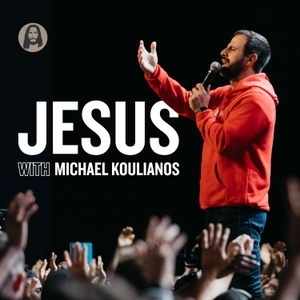 Jesus with Michael Koulianos by Michael Koulianos
