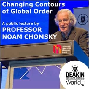 Changing Contours of Global Order by Noam Chomsky