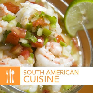 South American Cuisine by The International Culinary Schools at The Art Institutes