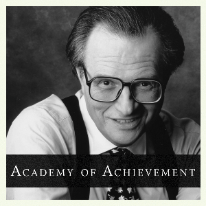 Larry King by Academy of Achievement