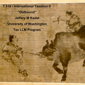 T516 International Taxation II by Jeffery Kadet