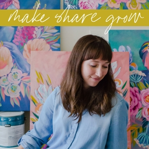 Make Share Grow: Art, Craft and the Creative Process by Julie Marriott: Painter, Pattern Designer and Educator