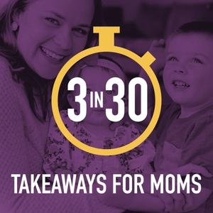 3 in 30 Takeaways for Moms by Rachel Nielson