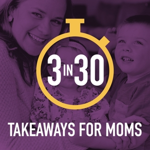 3 in 30 Takeaways for Moms by Rachel Nielson