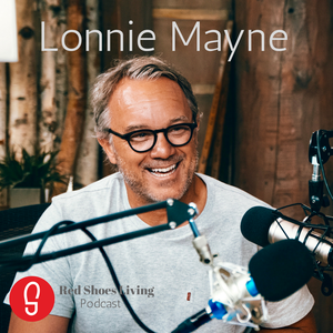 Red Shoes Living by Lonnie Mayne